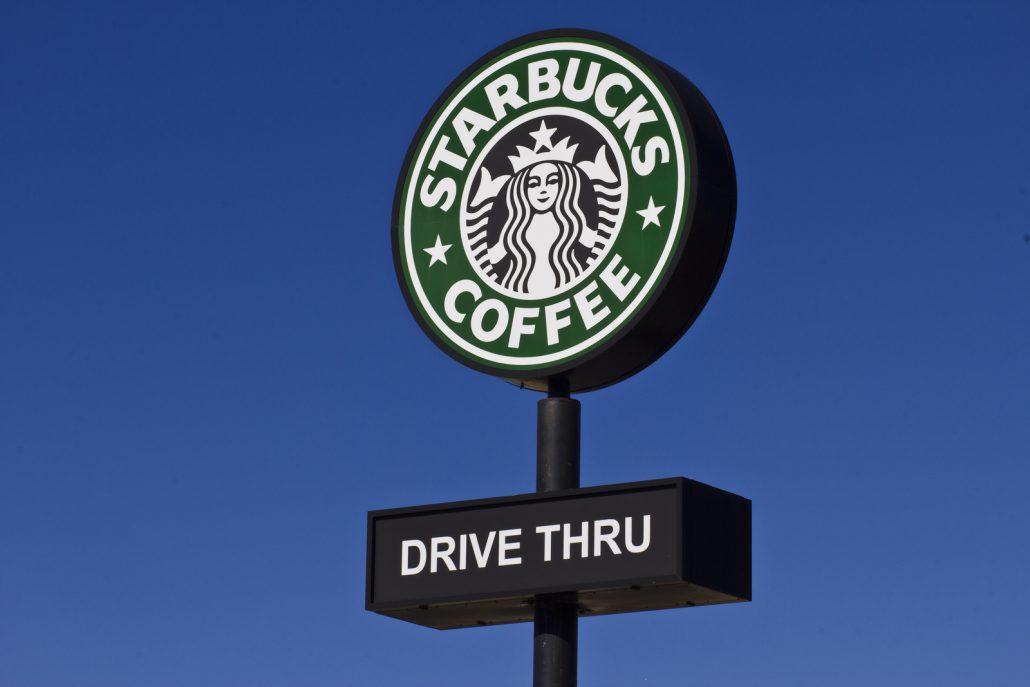 Indianapolis - November 2015: Starbucks Retail Coffee Store.