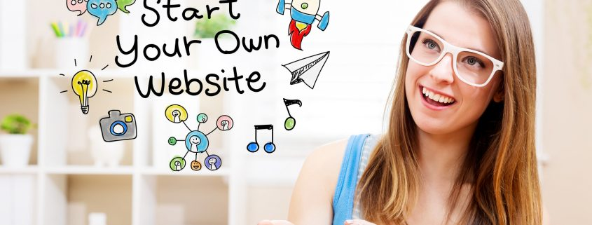 start your own website