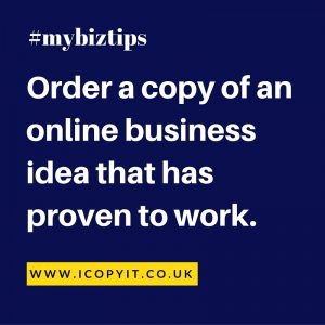order a copy business idea