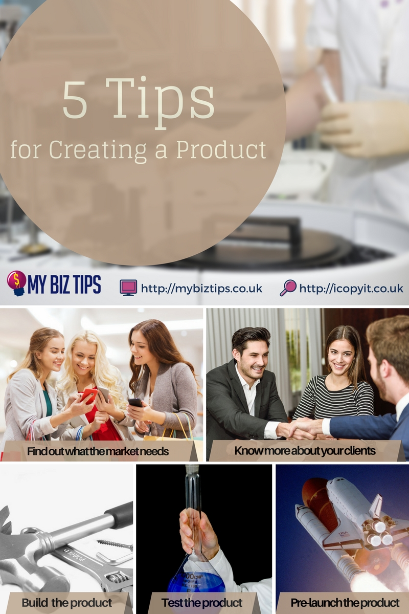 creating a product for your UK home business