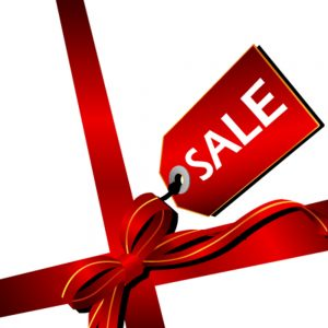 sale ribbon to boost the profits of your UK online business