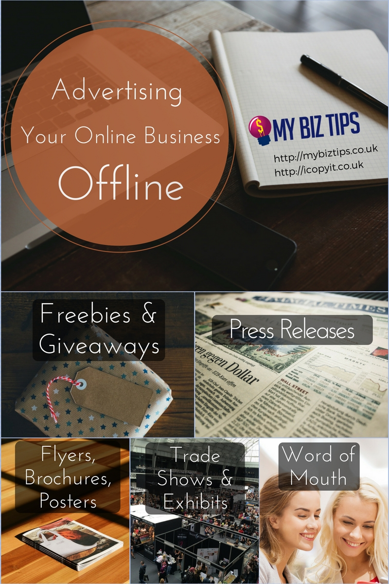 offline advertising UK online business