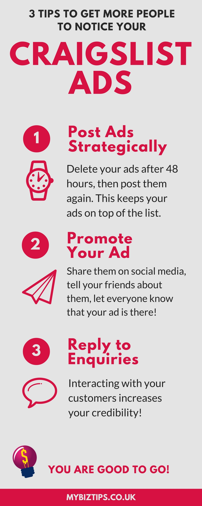 UK online business Craigslist Ads