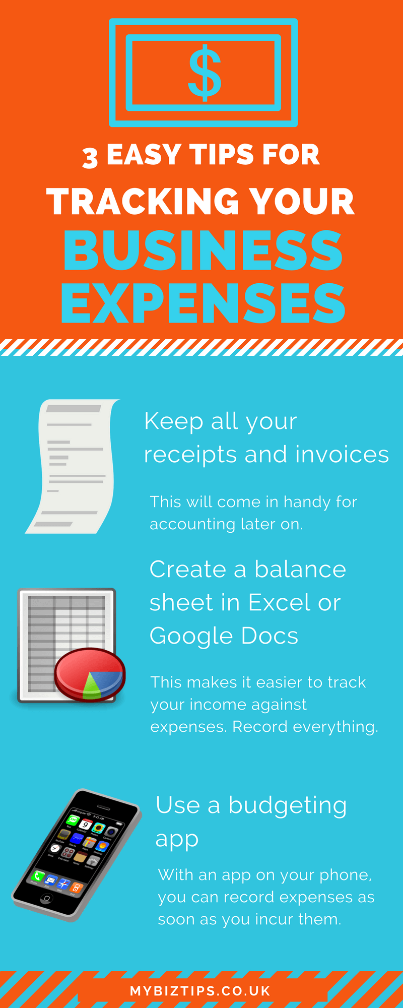 UK small business track expenses