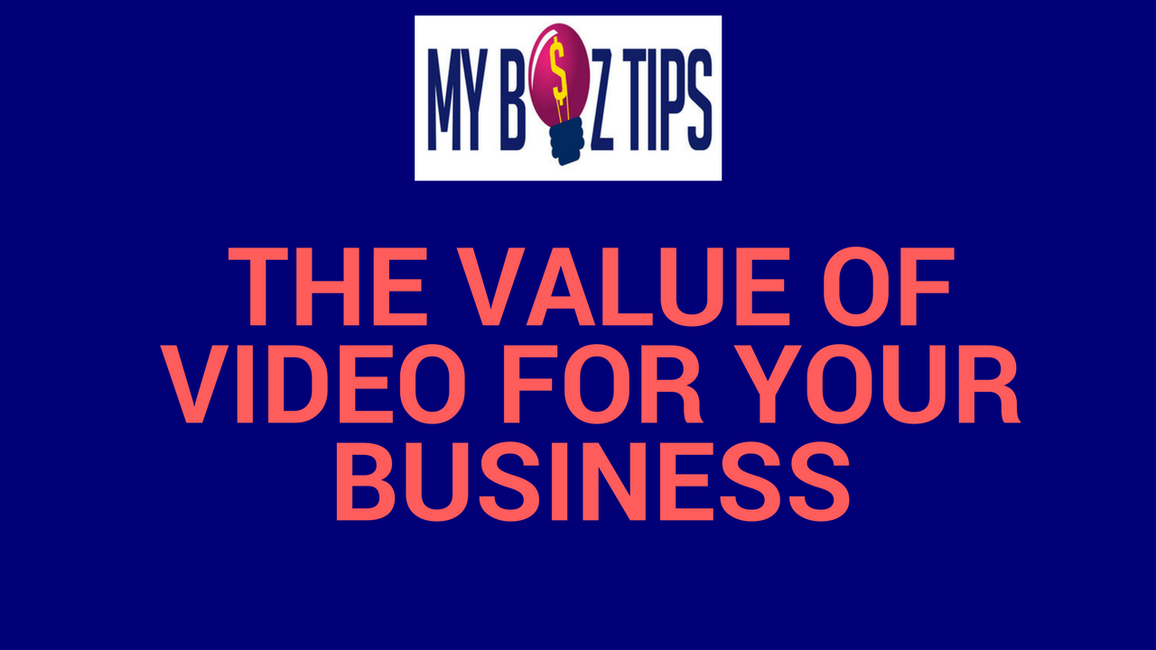 The value of video to your business small business ideas for Price your home online