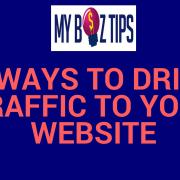 drive traffic website