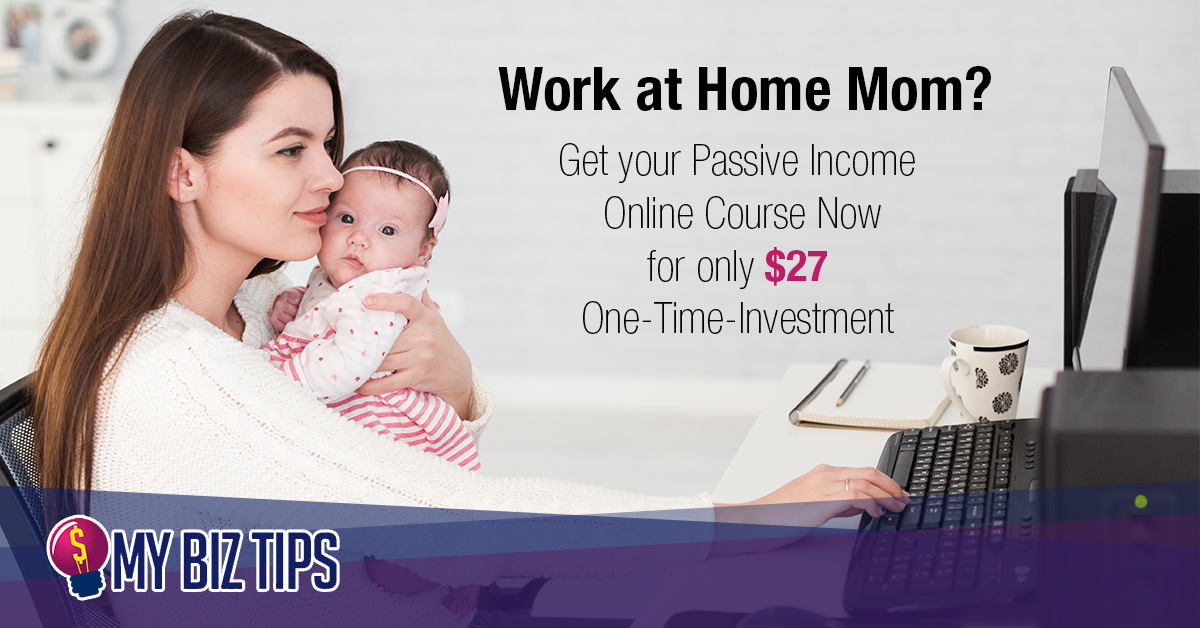 work at home mom online course